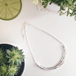 La Lune Sculpted Collar Necklace